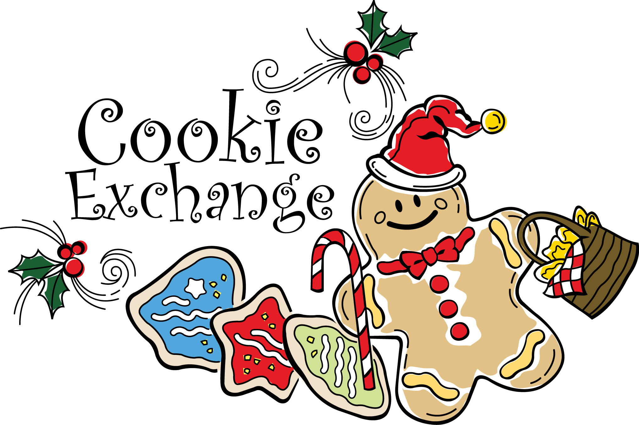 Image result for christmas cookie exchange
